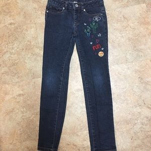 Route 66 Bottoms - Girls skinny jeans